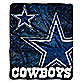 Dallas Cowboys Raschel Throw