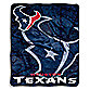 Houston Texans Raschel Throw