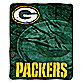 Green Bay Packers Raschel Throw