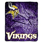 Minnesota Vikings Raschel Throw