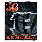 Cincinnati Bengals Raschel Throw