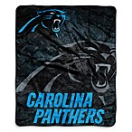 Carolina Panthers Raschel Throw