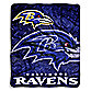 Baltimore Ravens Raschel Throw