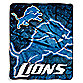 Detroit Lions Raschel Throw