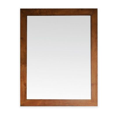 Avanity Legacy 36-Inch x 30-Inch Rectangular Mirror in Golden Burl