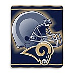 St. Louis Rams Raschel Throw