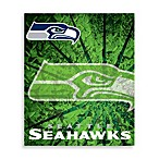 Seattle Seahawks Raschel Throw