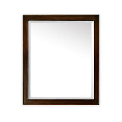 Avanity Madison 28-Inch x 32-Inch Mirror in Light Espresso Finish
