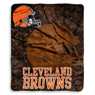 Cleveland Browns Raschel Throw