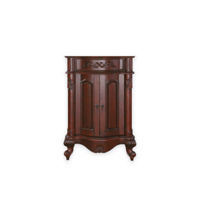 Avanity Provence 24-Inch Vanity Cabinet in Antique Cherry