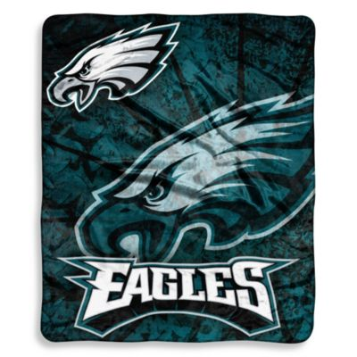 Philadelphia Eagles Raschel Throw