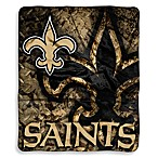 New Orleans Saints Raschel Throw