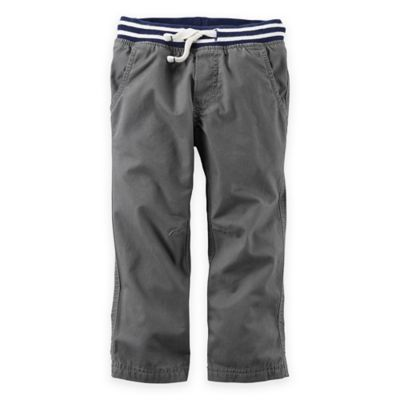 carter's® Size 6M Canvas Utility Pant in Grey