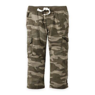 carter's® Size 12M Camo Cargo Pant