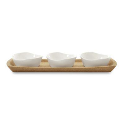 4-Piece Porcelain Dinnerware Set