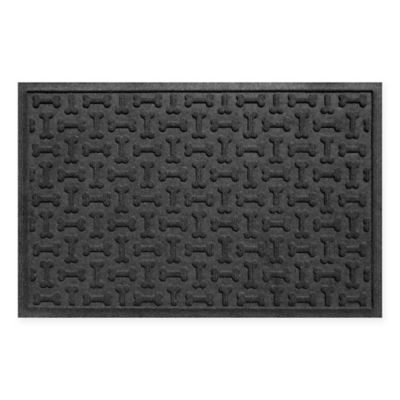 Weather Guard™ 23-Inch x 35-Inch Dog Treats Door Mat in Charcoal