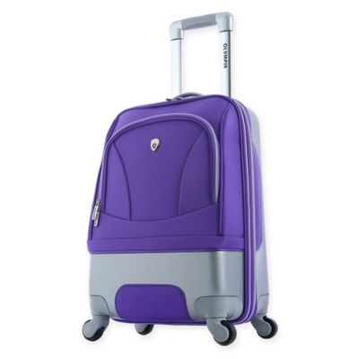 Olympia® USA Majestic 21-Inch Carry On Spinner in Plum
