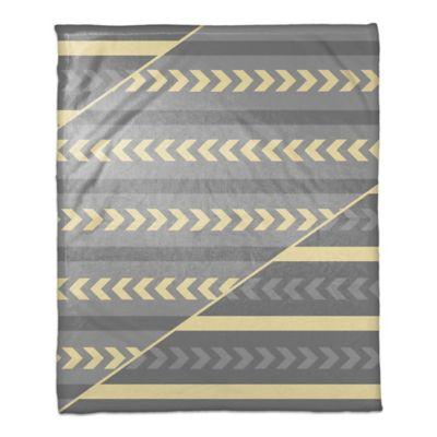 Striped Gray Blanket