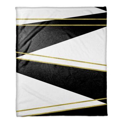 Black and White Geometric Bedding