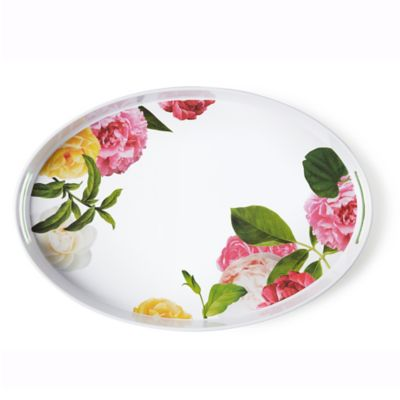 kate spade new york Patio Floral Serving Tray