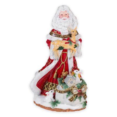 Fitz and Floyd® Yuletide Holiday Musical Santa
