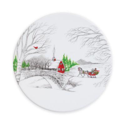 Fitz and Floyd® Vintage Holiday Porcelain Trivet