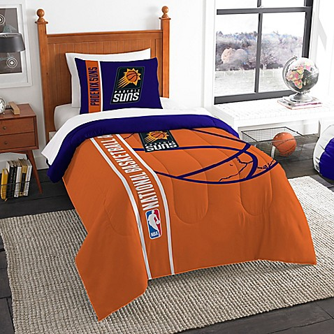 NBA Phoenix Suns Printed Twin Comforter By The Northwest Www BedBathandBeyo