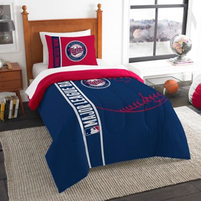 MLB Minnesota Twins Printed Twin Comforter by The Northwest