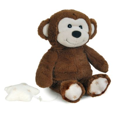 cloud b® Hugginz Musical Monkey Plush in Brown