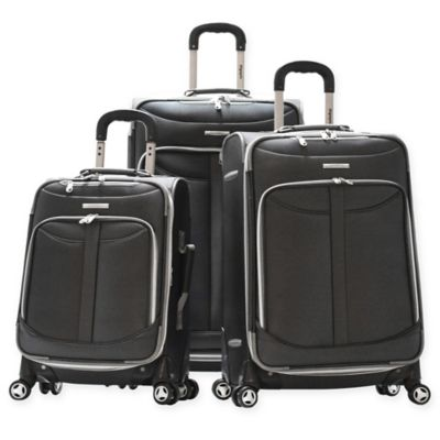 Olympia® Tuscany 3-Piece Expandable Spinner Set in Black