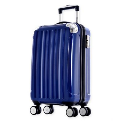 Olympia® USA Whistler 25-Inch Hardcase Spinner Suitcase in Metallic Blue