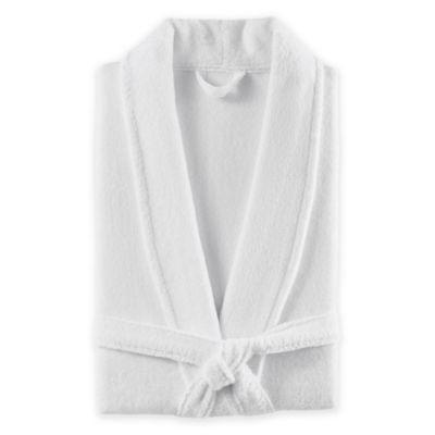 Kassatex DuCap Bathrobe in White
