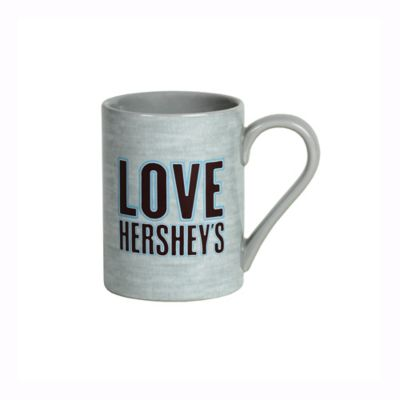 "Hershey's by Fitz and Floyd® ""Love Hershey's"" Mug in Grey"