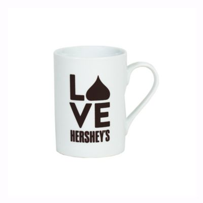 """Hershey's by Fitz and Floyd® """"Love Hershey's"""" Stacked Mug in White"""