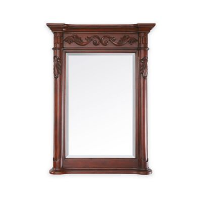 Avanity Provence 24-Inch Mirror in Antique Cherry