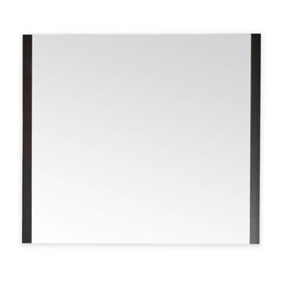 Avanity Loft 36-Inch x 31.5-Inch Rectangular Mirror in Dark Walnut