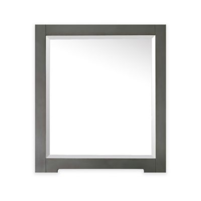 Avanity Kelly 28-Inch x 32-Inch Rectangular Mirror in Greyish Blue