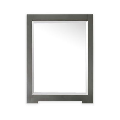 Avanity Kelly 24-Inch x 32-Inch Rectangular Mirror in Greyish Blue