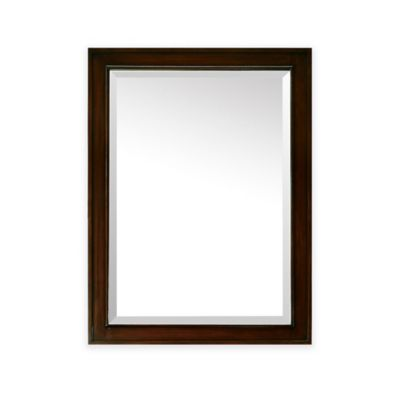 Avanity Madison 24-Inch x 32-Inch Rectangular Mirror in Light Espresso