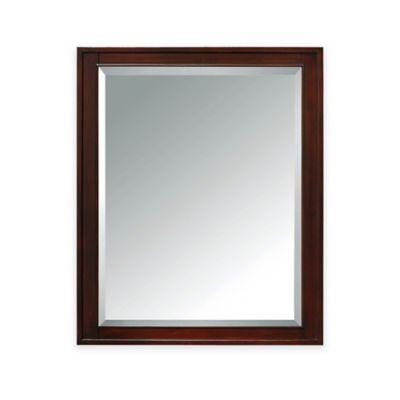 Avanity Madison Mirror Cabinet in Light Espresso