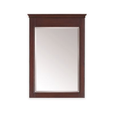 Avanity Windsor 24-Inch x 34-Inch Rectangular Mirror in Walnut