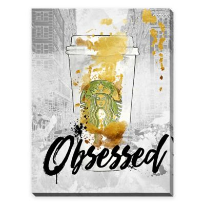 "BY Jodi ""Obsessed"" 30-Inch x 40-Inch Giclee Canvas Wall Art"