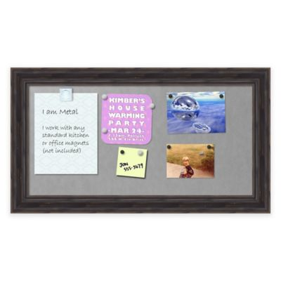 Rustic Pine Framed 12-Inch x 24-Inch Magnetic Board