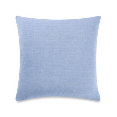 Cote D Azur Chambray Throw Pillow
