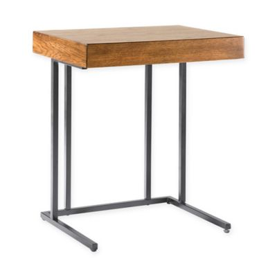 INK+IVY® Wynn Pull Up Table in Pecan/Graphite