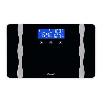 Widebody Digital Body Composition Bath Scale in Black