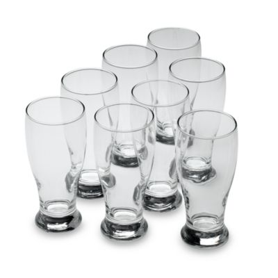 Libbey Glass Pilsner Glasses