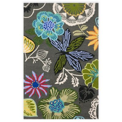 Safavieh Four Seasons Wonderland 3-Foot 6-Inch x 5-Foot 6-Inch Area Rug in Grey