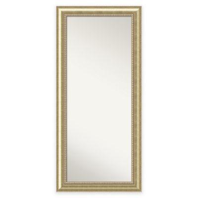 30.88-Inch x 66.88-inch Astoria Floor Mirror in Champagne