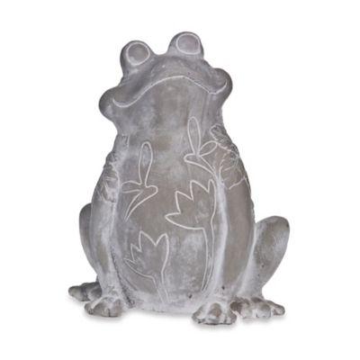 Home Essentials & Beyond Embossed Frog in Grey